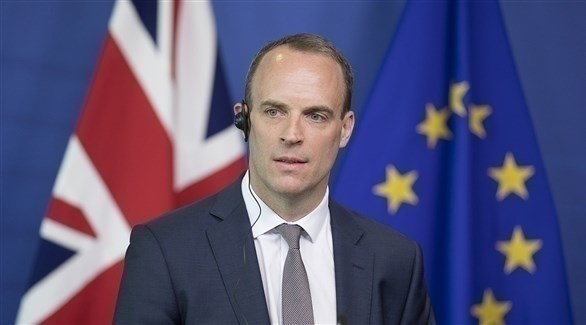 وزير خارجية بريطانيا دومينيك راب (أرشيف)