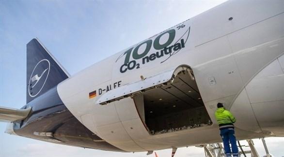 طائرة لوفتهانزا الألمانية في مطار فرانكفورت (أرشيف)