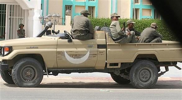 عناصر من الجيش في موريتانيا (أرشيف)