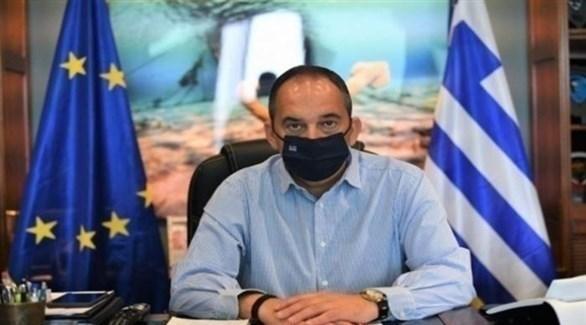 وزير النقل البحري اليوناني ياني(أرشيف)