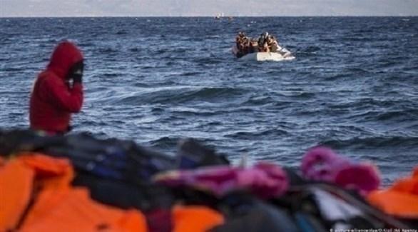 مهاجرين في بحر إيحة (أرشيف)