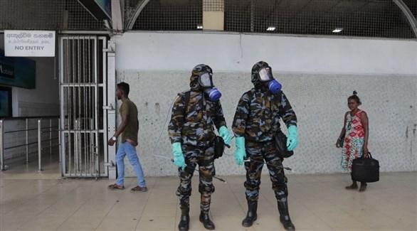 عنصر ان من الشرطة السريلانكية (أرشيف)