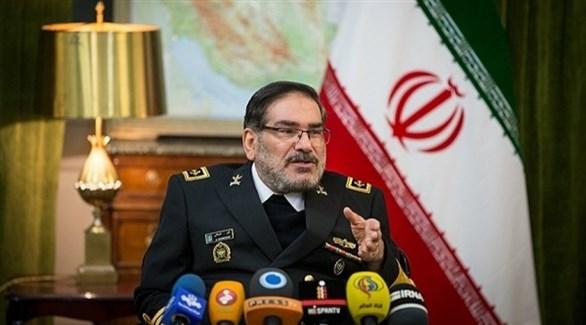 أمين المجلس الأعلى للأمن القومي الإيراني علي شمخاني (أرشيف)