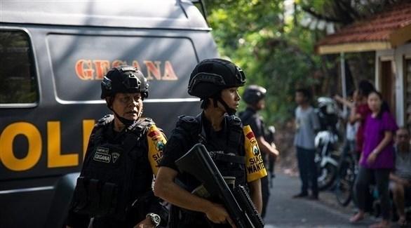 عناصر من الشرطة الإندونيسية (أرشيف)