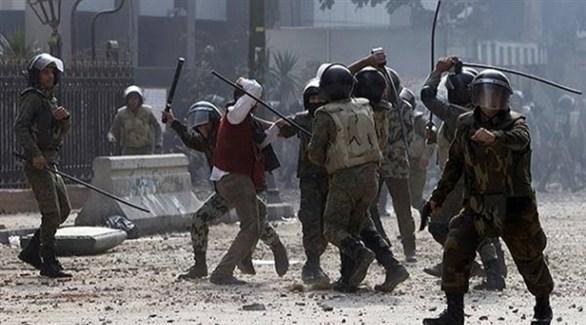 أحداث العنف التي وقعت بجانب رئاسة الوزراء (أرشيف)