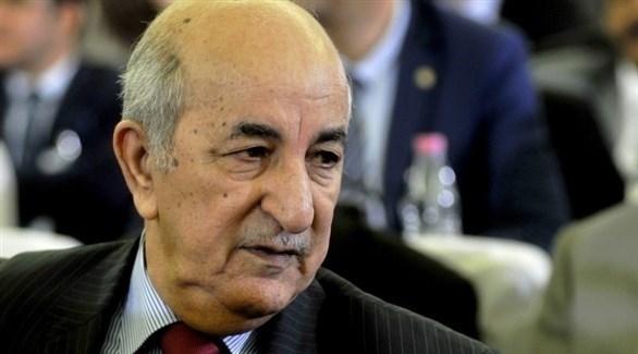رئيس الجزائر عبد المجيد تبون (أرشيف)