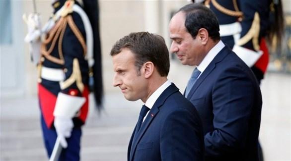 الرئيس المصري ونظيره الفرنسي (أرشيف / غيتي)