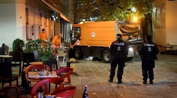 الشرطة النمساوية تنتشر في مكان هجوم فيينا (أرشيف)
