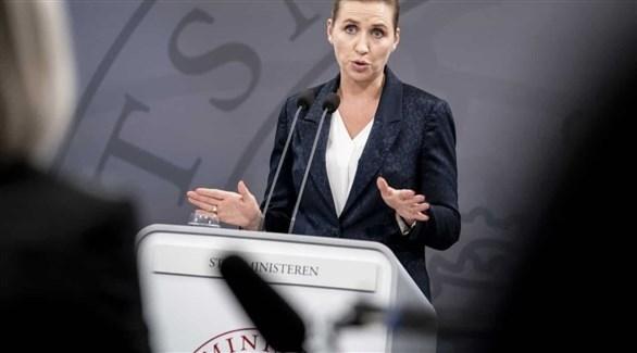 رئيسة وزراء الدنمارك ميت فريديركسن (أرشيف)