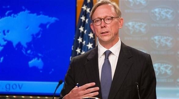 ممثل الولايات المتحدة الخاص بشأن إيران برايان هوك (أرشيف)
