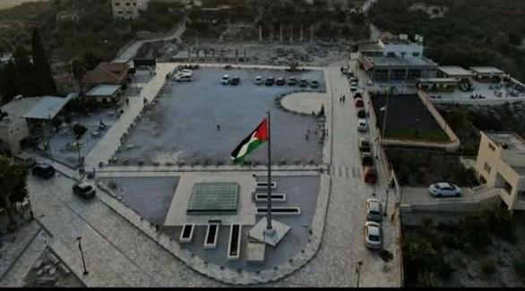 ساحة البيادر الفلسطينية في نابلس (أرشيف)