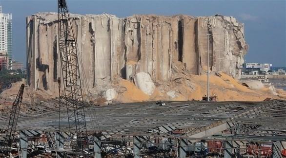 اهراءات الحبوب المجاورة لمرفأ بيروت (أرشيف)