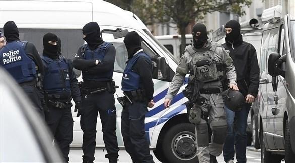 عناصر من الشرطة البلجيكية (أرشيف)