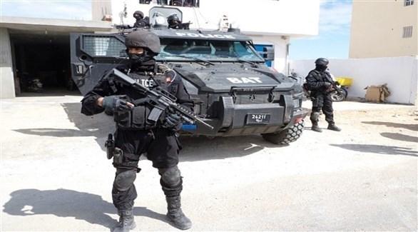 الوحدات الخاصة في الشرطة التونسية (أرشيف)