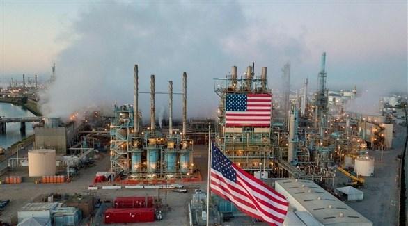 محطة أمريكية لاستخراج البترول (أرشيف)