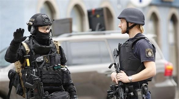 عناصر أمنية في الشوارع السويدية (أرشيف)