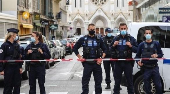شرطة فرنسية في موقع الهجوم - أرشيف