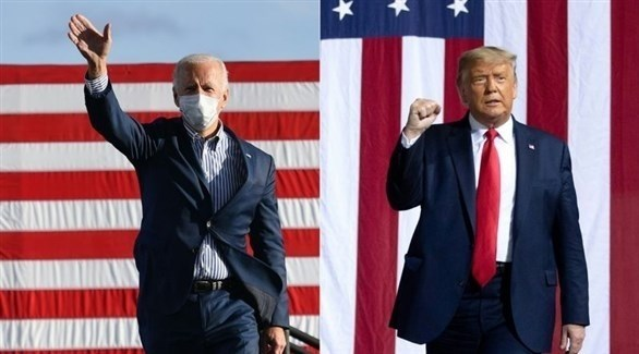الرئيس الأمريكي دونالد ترامب والمرشح الديمقراطي للرئاسة جو بايدن (أرشيف)