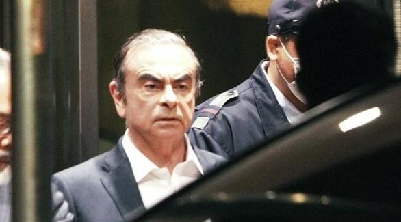 رئيس مجلس إدارة شركة نيسان السابق كارلوس غصن (أرشيف)