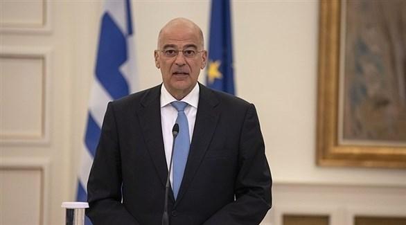 وزير الخارجية اليوناني، نيكوس ديندياس (أرشيف)