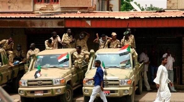 عناصر من الجيش السوداني (أرشيف)