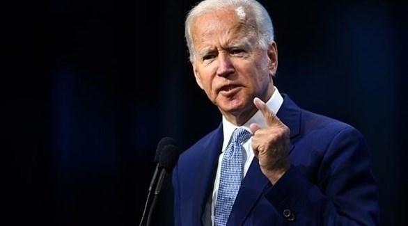 المرشح الديمقراطي للرئاسة الأمريكية (جو بايدن)