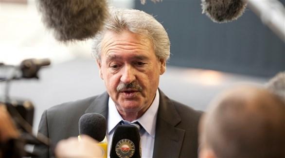 وزير خارجية لوكسمبورغ جان أسلبورن (أرشيف)