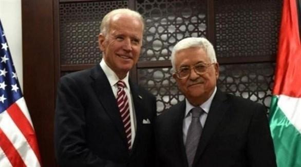 عباس وجو بايدن (أرشيف)