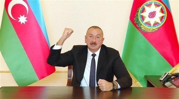 الرئيس الأذربيجاني إلهام علييف (أرشيف)