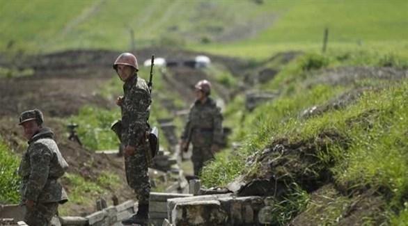 القوات الأرمينية (أرشيف)