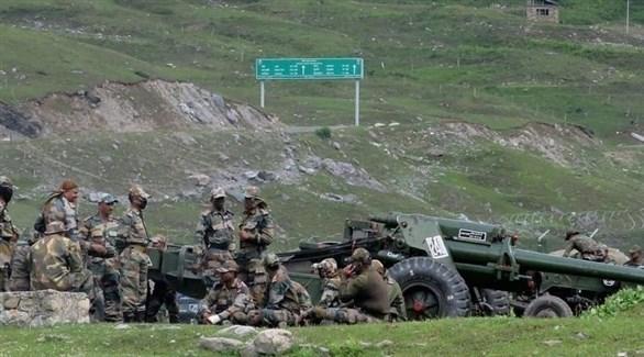 عناصر من الجيش الهندي على الحدود مع الصين (أرشيف)