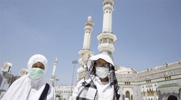 ارتداء الكمامات في المناطق العامة داخل السعودية (أرشيف)