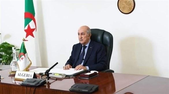 الرئيس عبد المجيد تبون (أرشيف)
