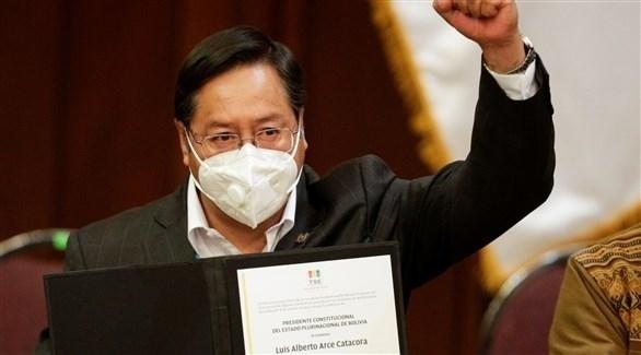 الرئيس البوليفي الجديد لويس أرس (أرشيف)