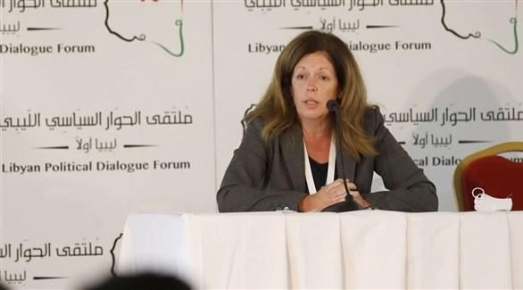 رئيسة البعثة الأممية للدعم في ليبيا ستيفاني وليامز (أرشيف)