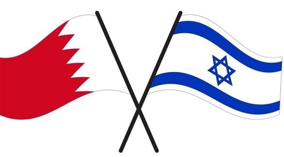علما البحرين وإسرائيل (أرشيف)