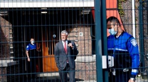 رئيس كوسوفو المستقيل هاشم تاجي