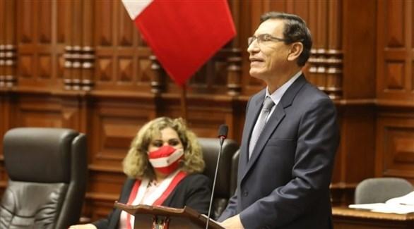 رئيس البيرو مارتين بيثكارا (أرشيف)