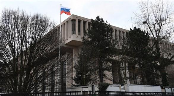 مبنى السفارة الروسية في لاهاي الهولندية (أرشيف)