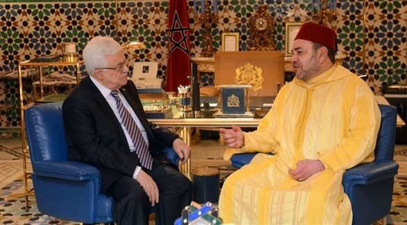 ملك المغرب محمد السادس والرئيس الفلسطيني محمود عباس (أرشيف)