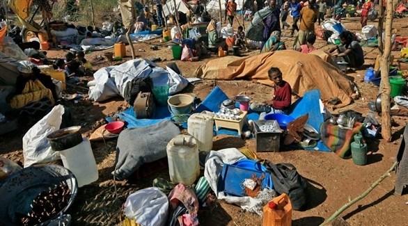 لاجئون من إقليم تيغراي (أرشيف)