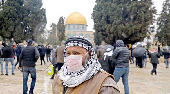 فلسطينيون في الحرم القدسي (أرشيف)