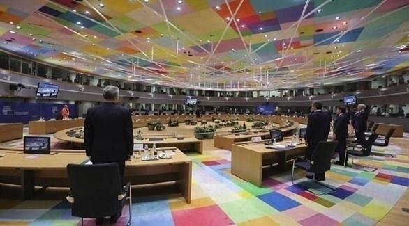خلال اجتماع القمة الأوروبية (أرشيف)
