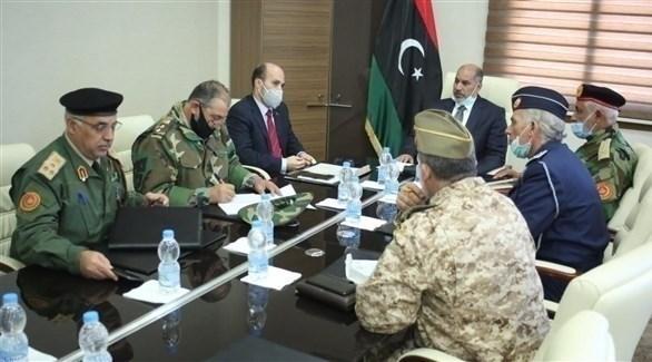 خلال الاجتماع (الصفحة الرسمية لحكومة الوفاق)