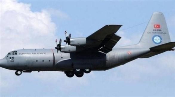 طائرة عسكرية تركية (أرشيف)