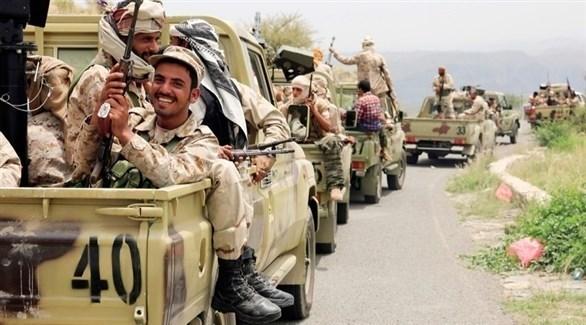 طابور مركبات عسكرية تابع للجيش اليمني (أرشيف)