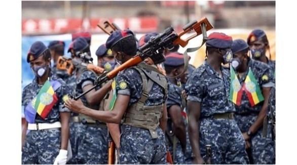 الجيش الإثيوبي في إقليم تيغراي (أرشيف)