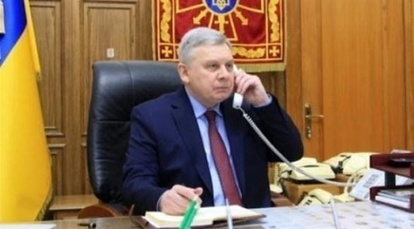 وزير الدفاع الأوكراني أندري تاران (أرشيف)