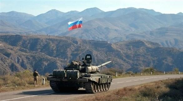 قوات حفظ السلام الروسية في ماغورني قره باغ (أرشيف)