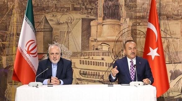 وزيرا خارجية تركيا وإيران (أرشيف)